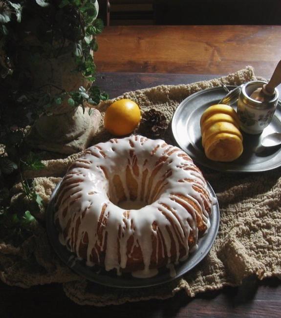 meyer lemon bundt cake | une gamine dans la cuisine