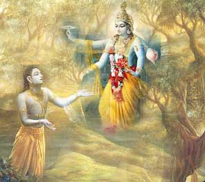 More Conversation with God-Devotee requesting Lord Krishna