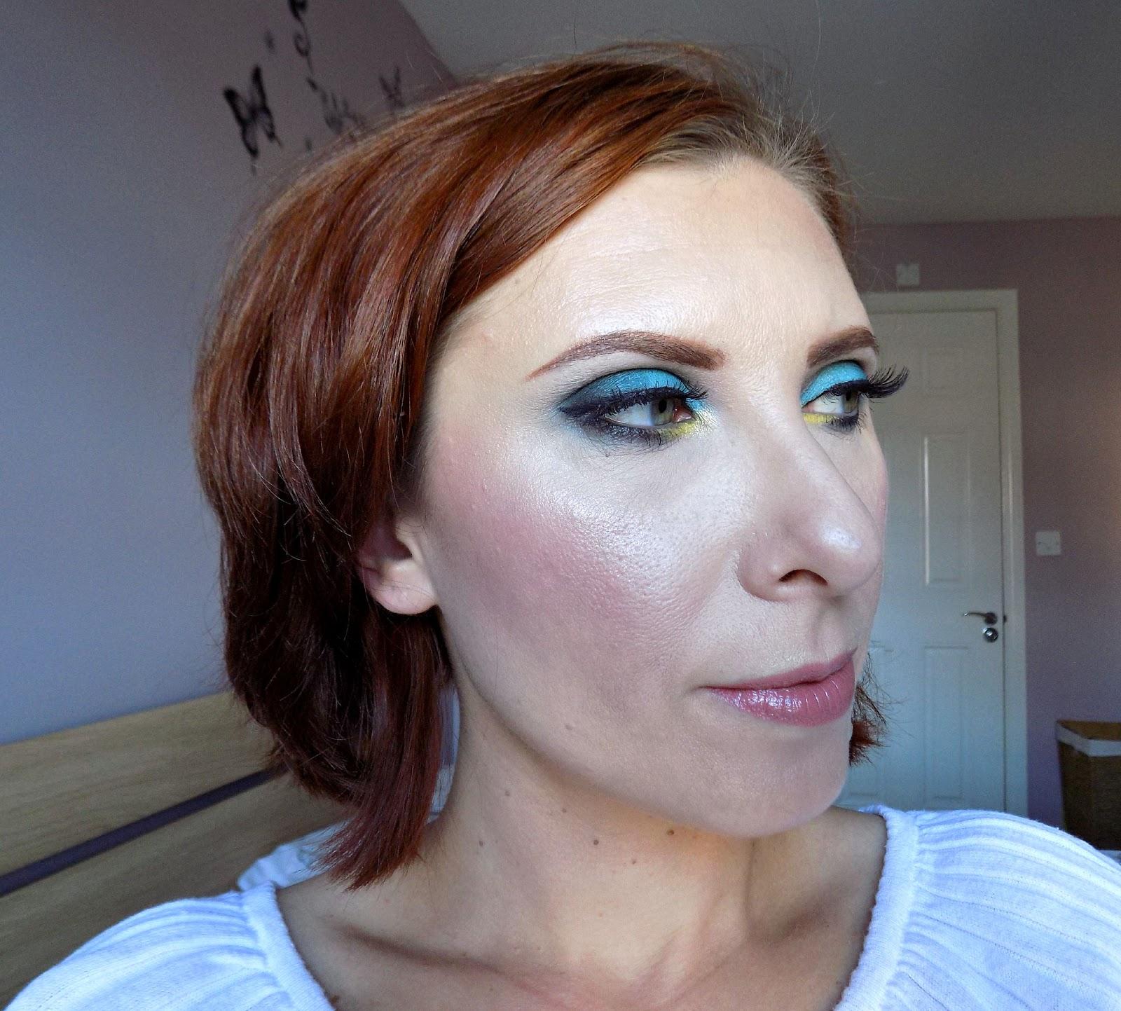 Sleek Del Mar Vol.2 palette makeup look