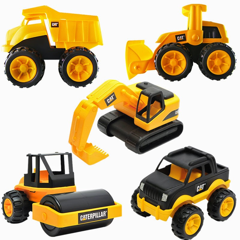 Toy Construction Trucks : Review anything rate everything caterpillar toys