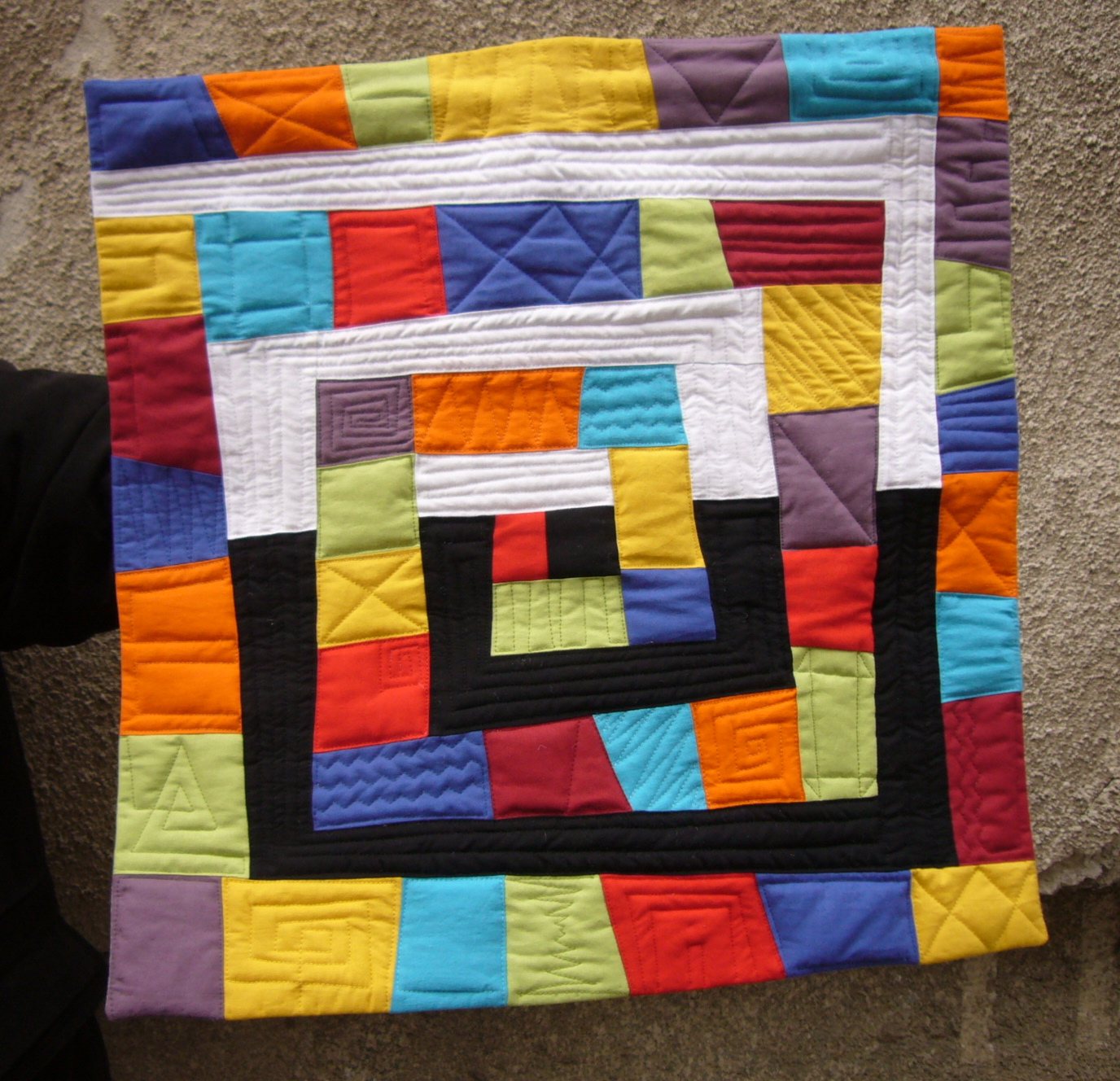 3patchcrafts 5050 Contemporary Art Quilt Number 2