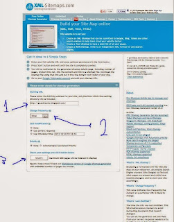 Create Site Map  Sitemap For Blogger