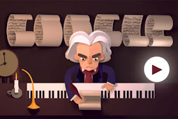 Jawaban Game Google Doodles Celebrating Ludwig van Beethoven's 245 Year