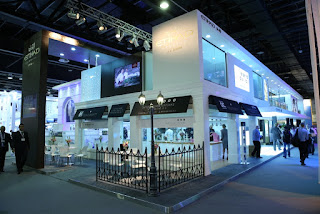 Etihad's stand at Arabian Travel Market [Photo: Etihad Airways]