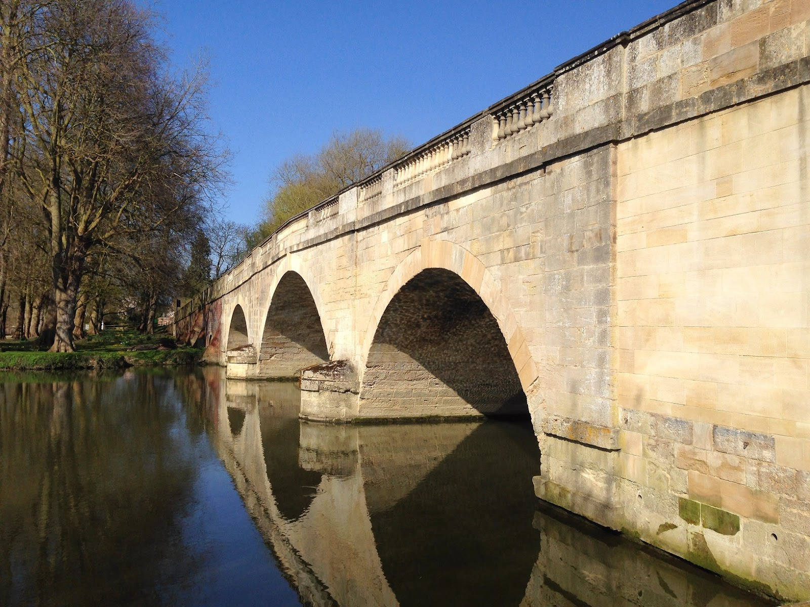Shillingford Bridge over the River Thames, Oxfordshire
