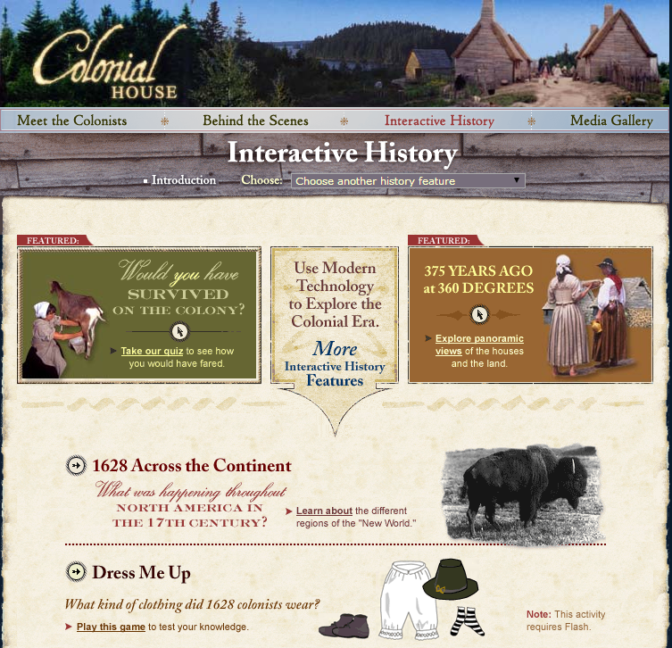 6 powerful interactive history sites