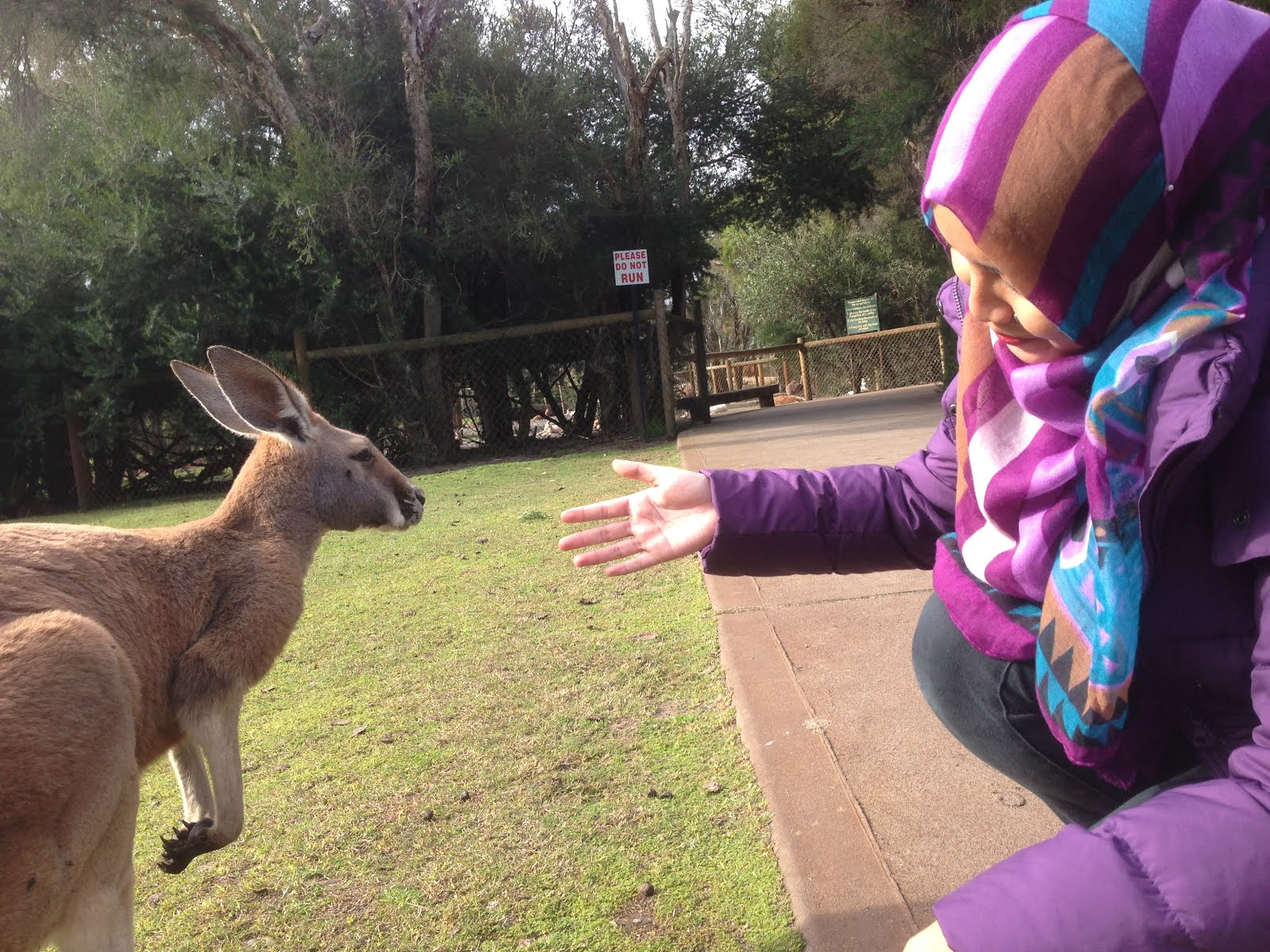 Caversham Wildlife Park, Perth 2015