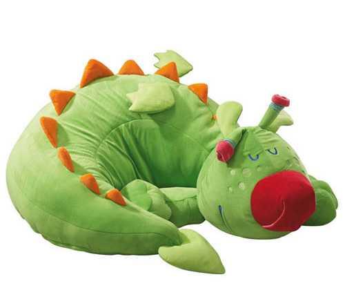 Puff en forma de dragón