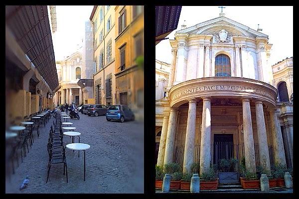 Kościół S. Maria della Pace w Rzymie