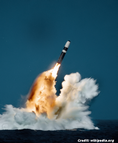 UFO was Submarine Launched 'Trident II' Missile