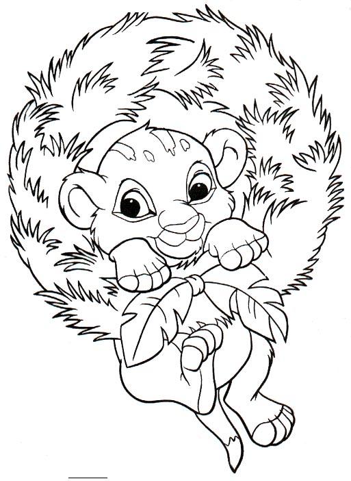 Dibujo para Imprimir y Pintar del Rey León. ~ Pintamonos