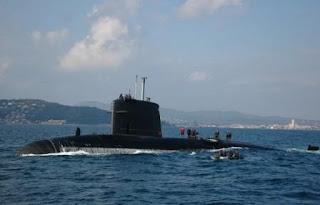 kapal selam terbaik perancis