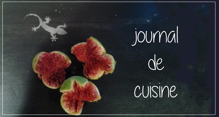 Journal de cuisine