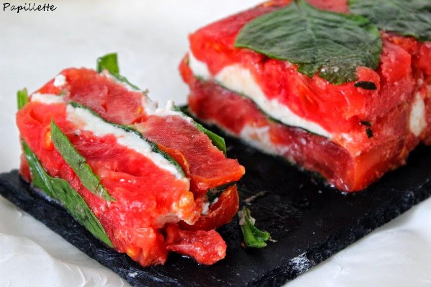 terrine tomate mozarrella