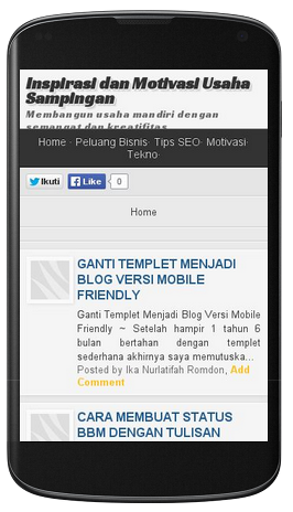 blog mobile friendly