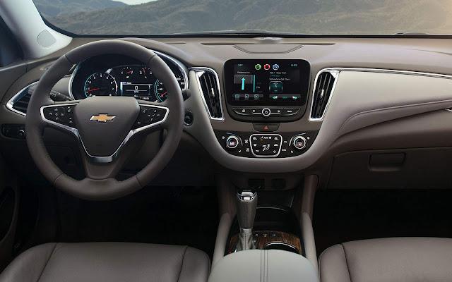 Novo Chevrolet Malibu 2017 - Brasil