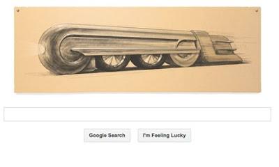 Google Doodle  Designer Raymond Loewy