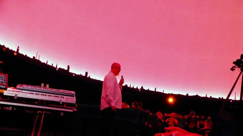 Mario Schönwälder : BK&S live @ Planetarium am Insulaner, Berlin / photo S. Mazars
