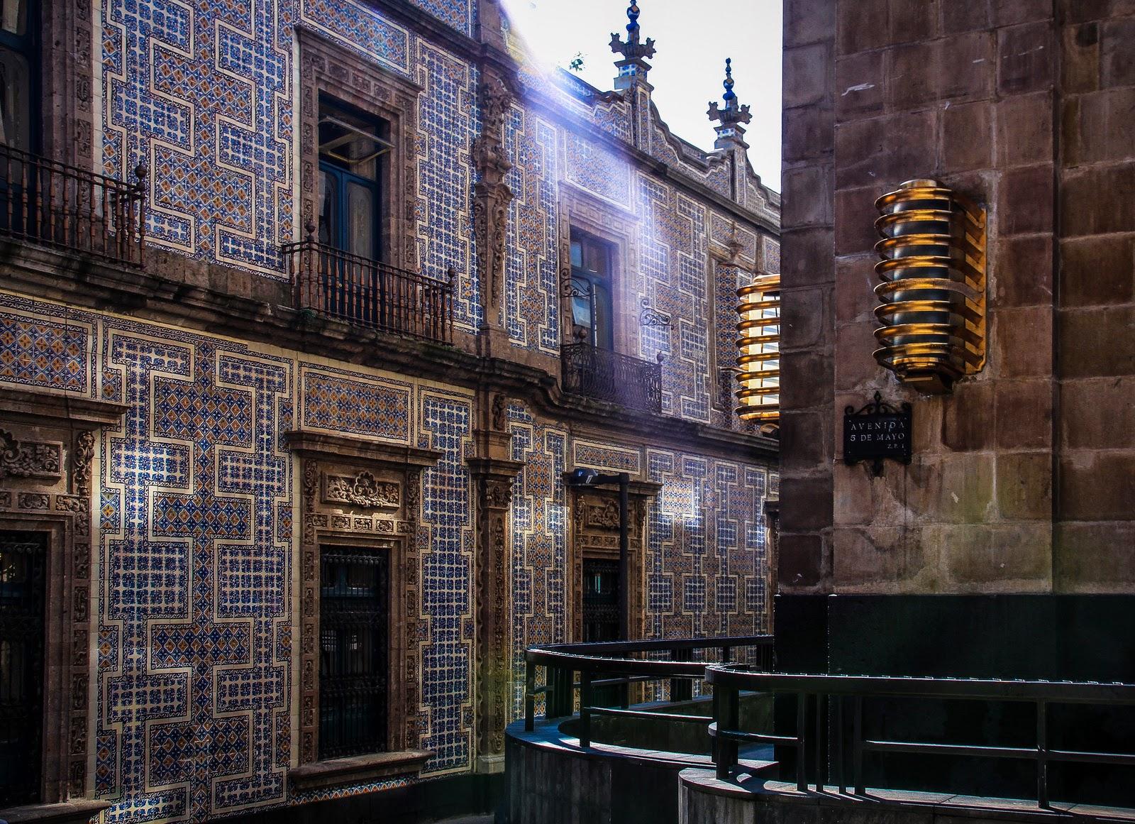 Chilangu a la ciudad de la cultura casa de los azulejos for Sanborns orizaba