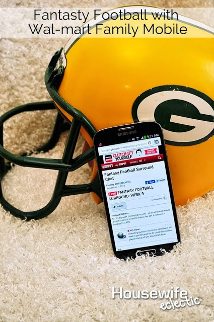Fantasy Football and Walmart Family Mobile #Shop