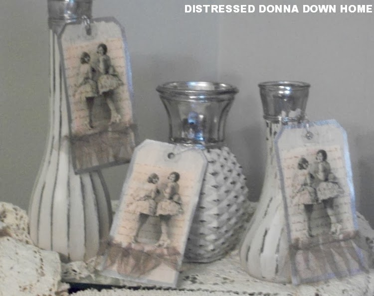 Distressed Donna Down Home Old Vases From Clutter To Chic