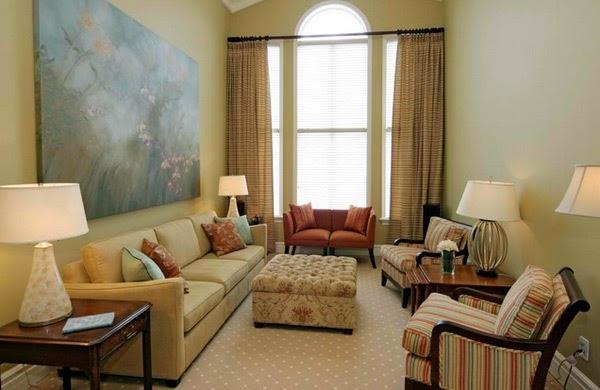 Berbagai warna ruang tamu 7