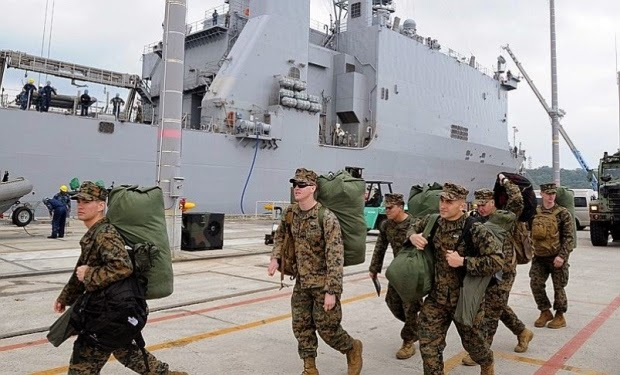 Military News - New Navy report could clear way for Marines' move from Okinawa to Guam