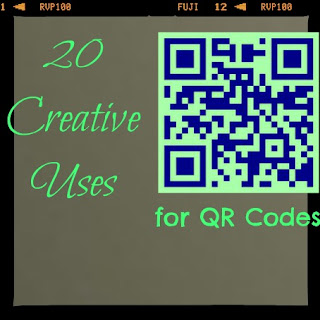 creative uses for QR codes, what are QR codes
