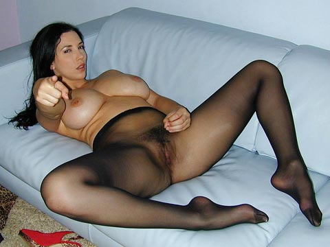 orgasm in pantyhose Women