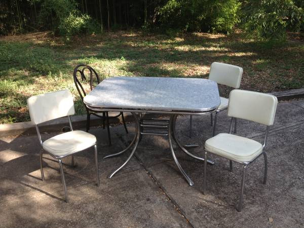 Table And Chairs   $60