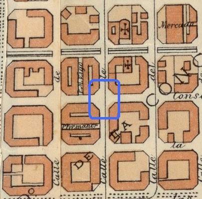 casas cerda mapa antiguo barcelona mundobarcino