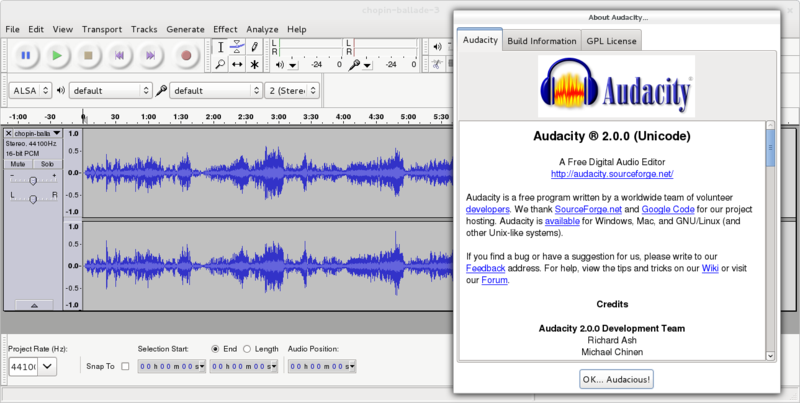 edit mp3 in ubuntu using audacity