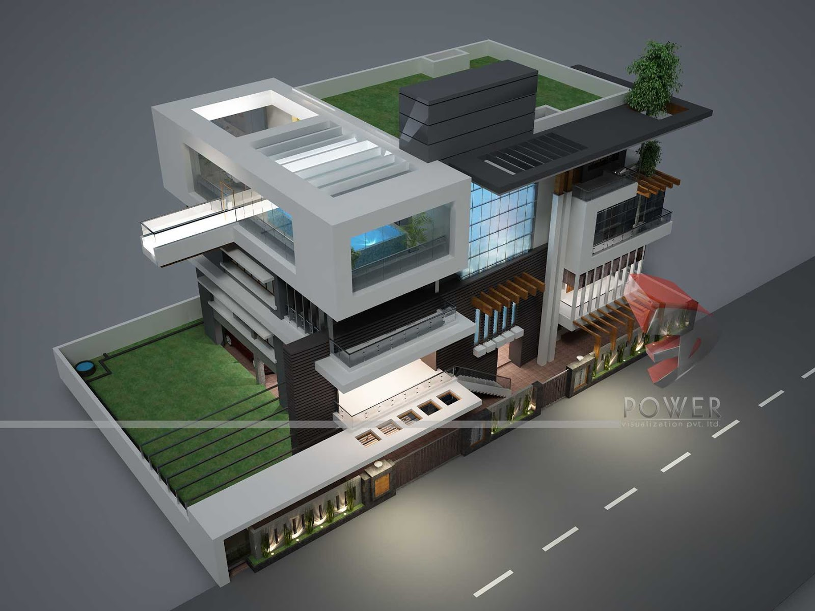 Modern home design october 2012 House designer 3d