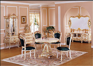 Inside Design Baroque Type Eating Room