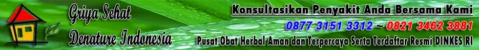 Pengobatan Kencing Nanah Herbal Denature Indonesia