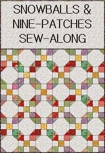 Snowball & 9 Patch Sew Along - at Terry's Treasures