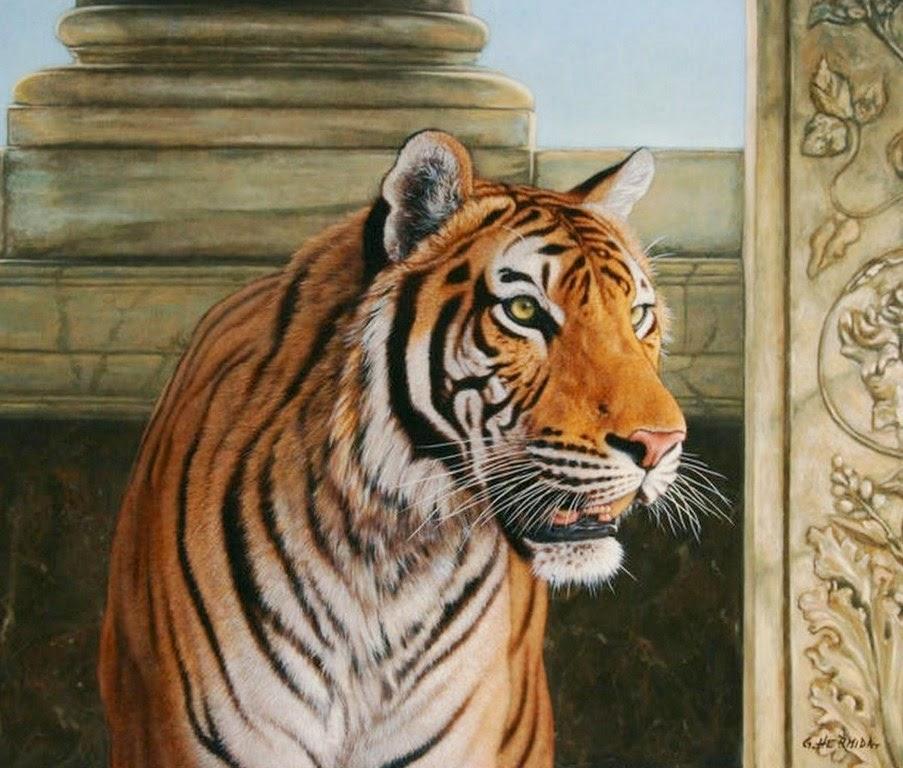 tigres-pintados-al-oleo