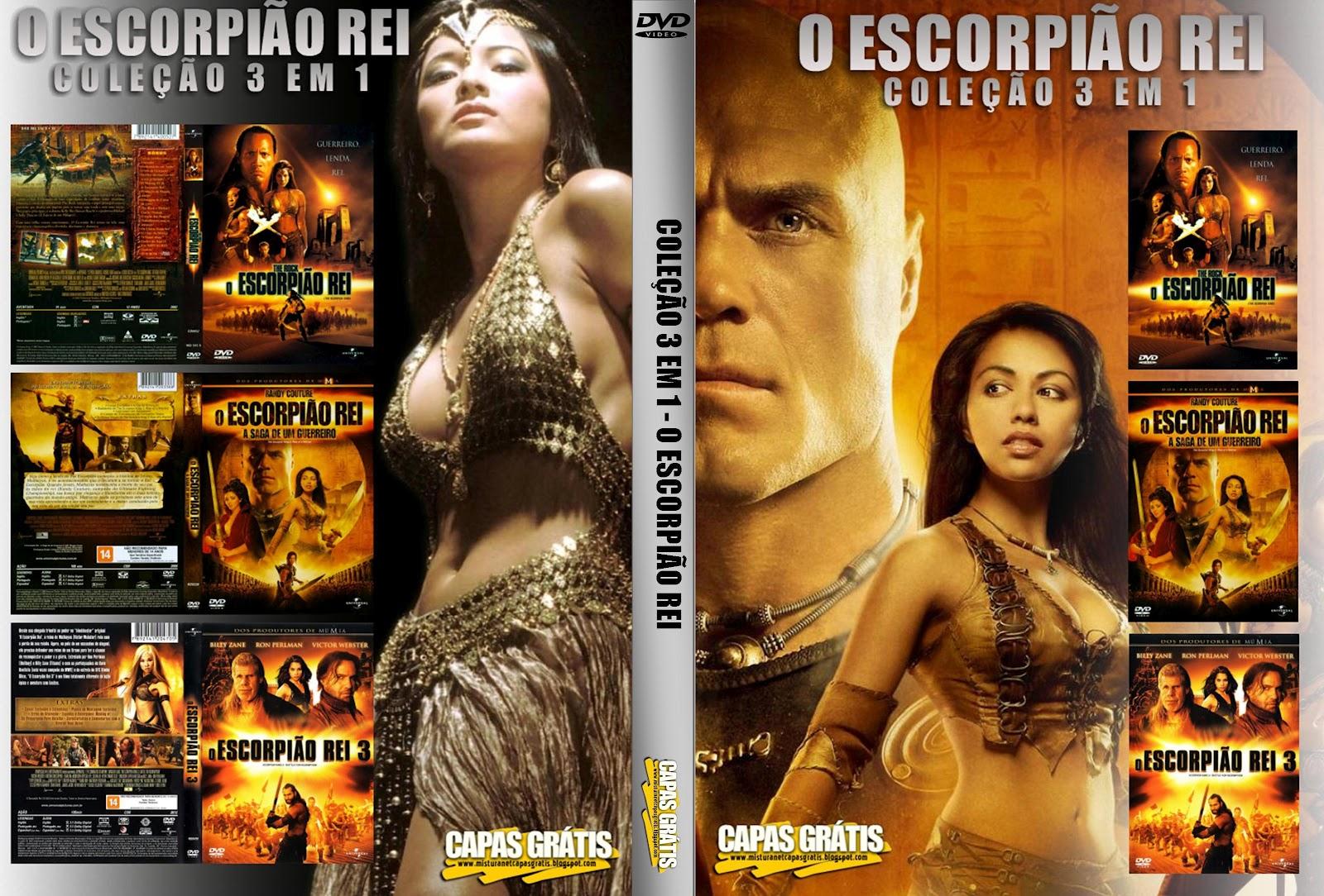 capa do filme O Escorpião Rei 3 EM 1
