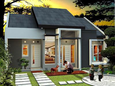 Rumah Minimalis Type 45 Terbaru 2015