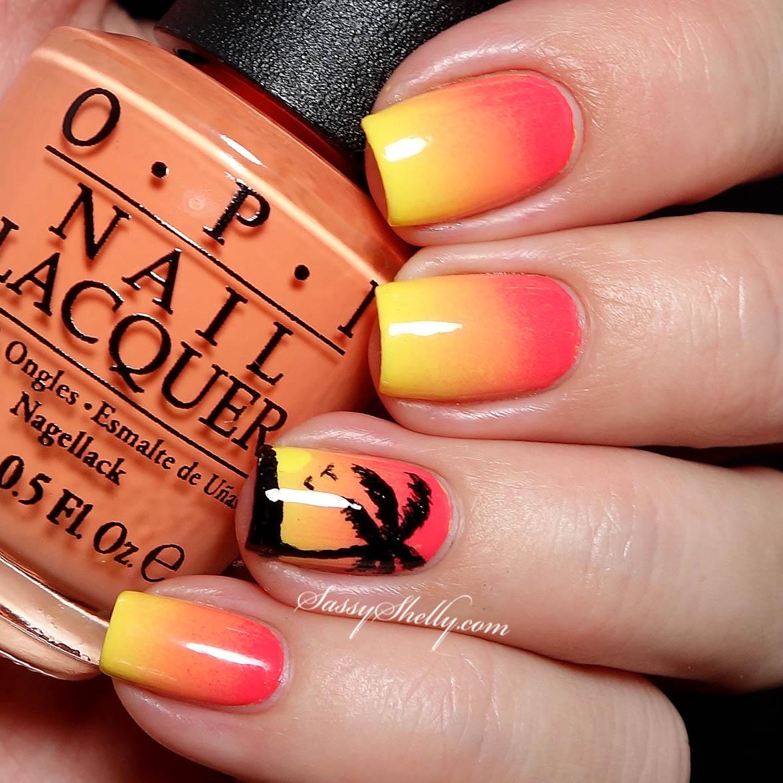 Digit Al Dozen Does Summer Tropical Sunset Sassy Shelly