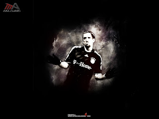 Franck Ribery Bayern Munich Wallpaper 2011 5