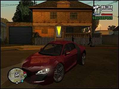 GTA San Andreas + Full Cars Mod + ENB