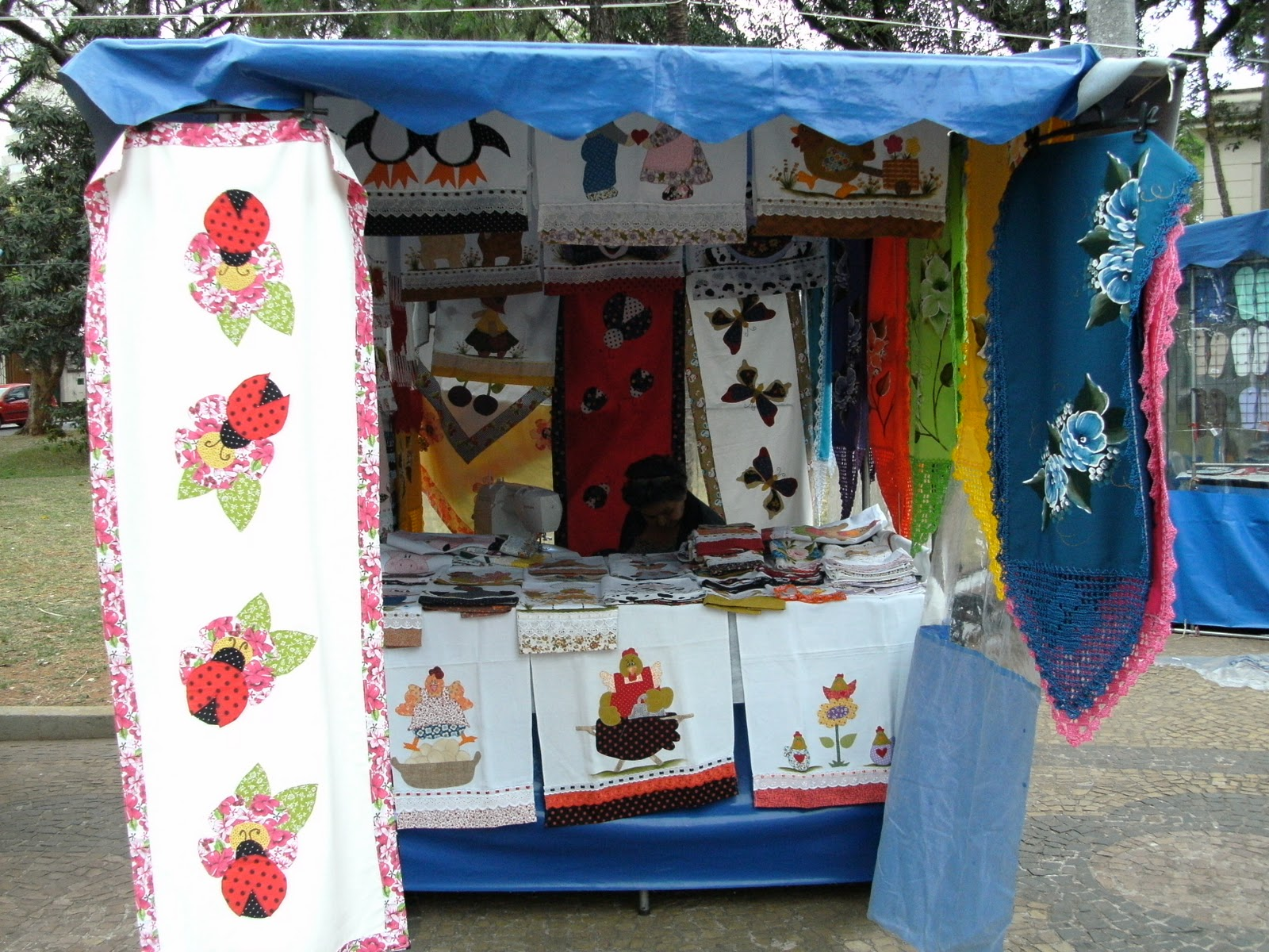Armario Ropero Sinonimos ~ feira de artesanato em Sorocaba PINTURA EM TECIDOS PLÁSTICOS JATEADOS