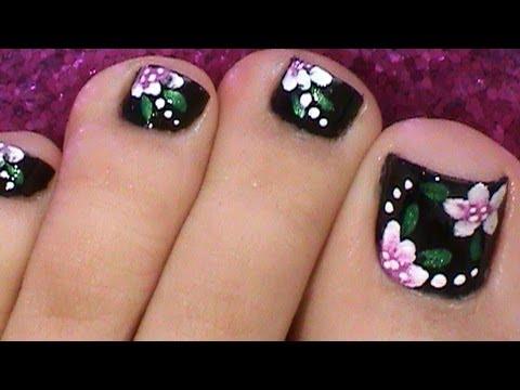 Modelos de pintados de uñas de pies - Imagui