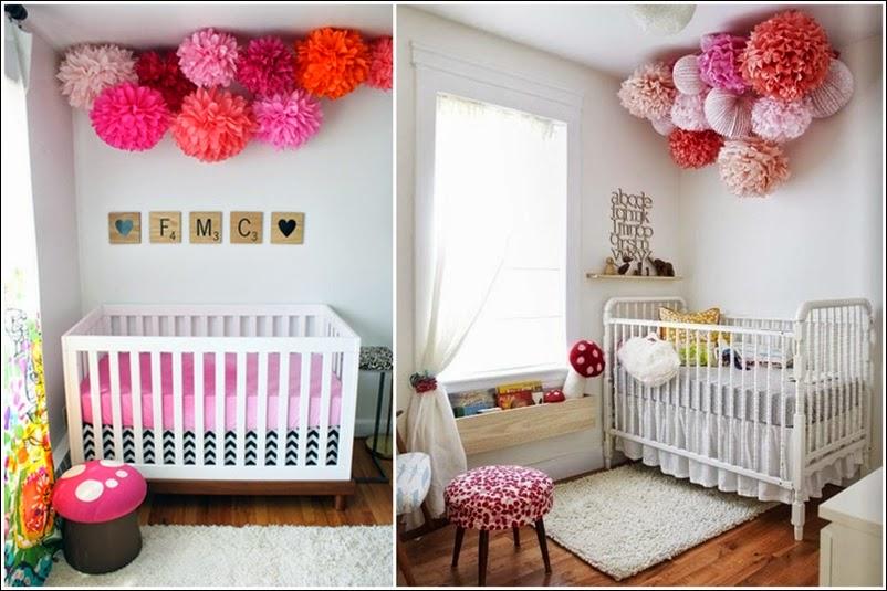 Blog o niemowl tach rodzicielstwie oraz designie dla dzieci pompony modny gad et w pokoju - Deco babybed ...