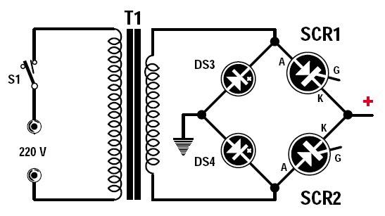 Pont de diode redresseur 12v