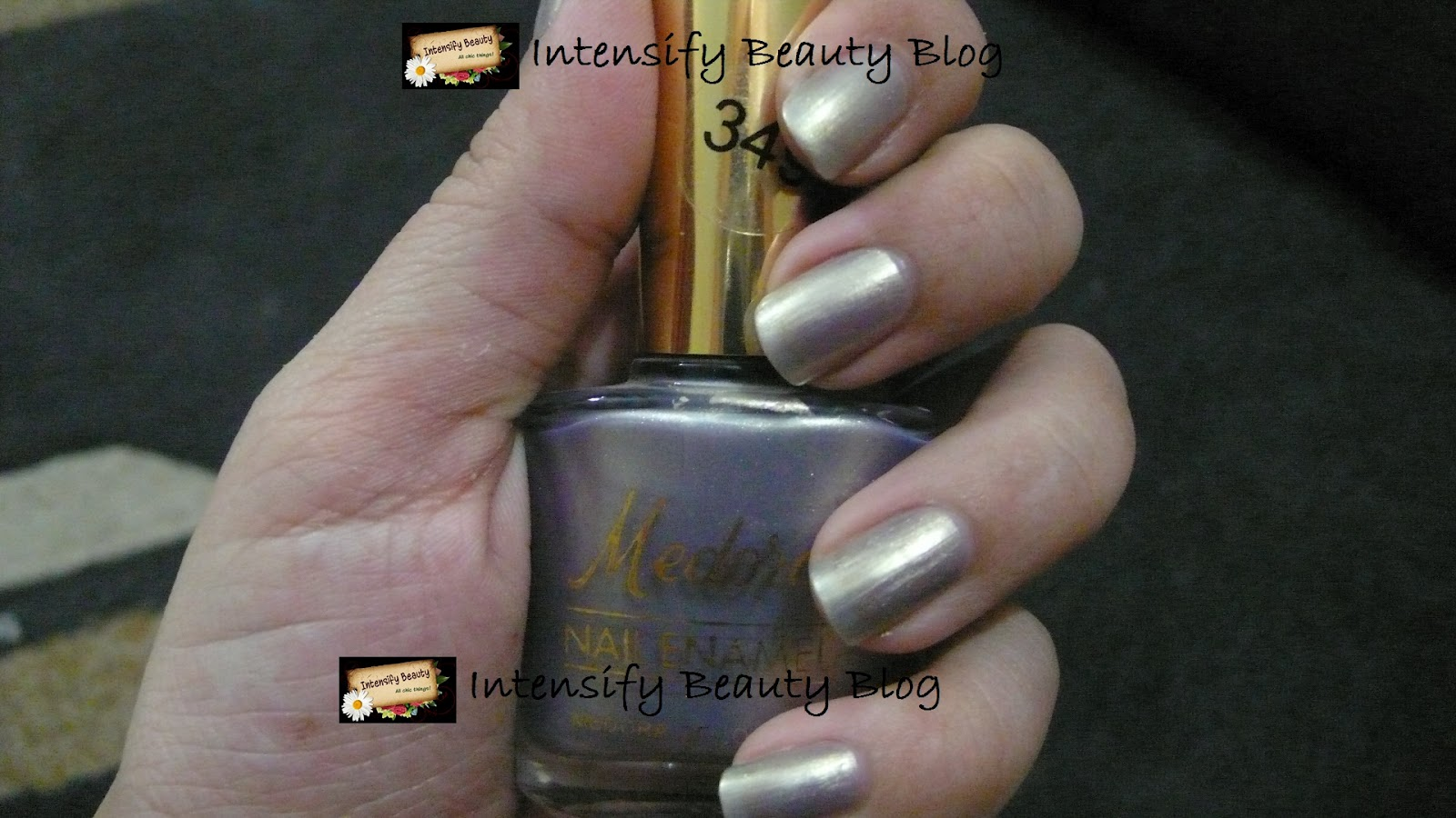 Medore Nail Color in 349 - Intensify Beauty Blog