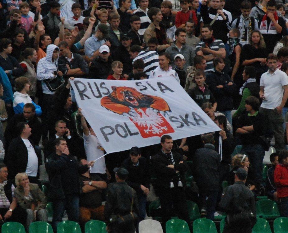 Kibice FK Moskwa - fot. Tomasz Janus/sportnaukowo.pl