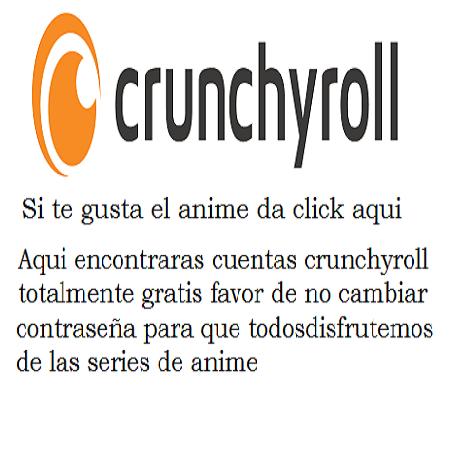 CRUNCHYROLL GRATIS