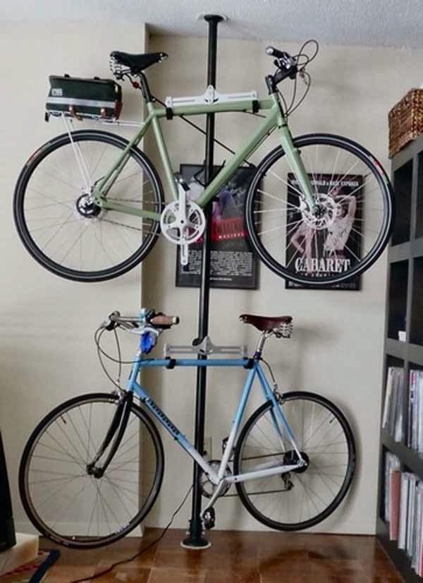 Pasja WnĘtrza Miejsce Na Rower W MaŁym Mieszkaniu